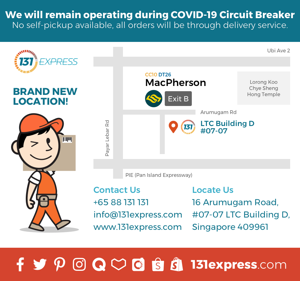 131Express Contact