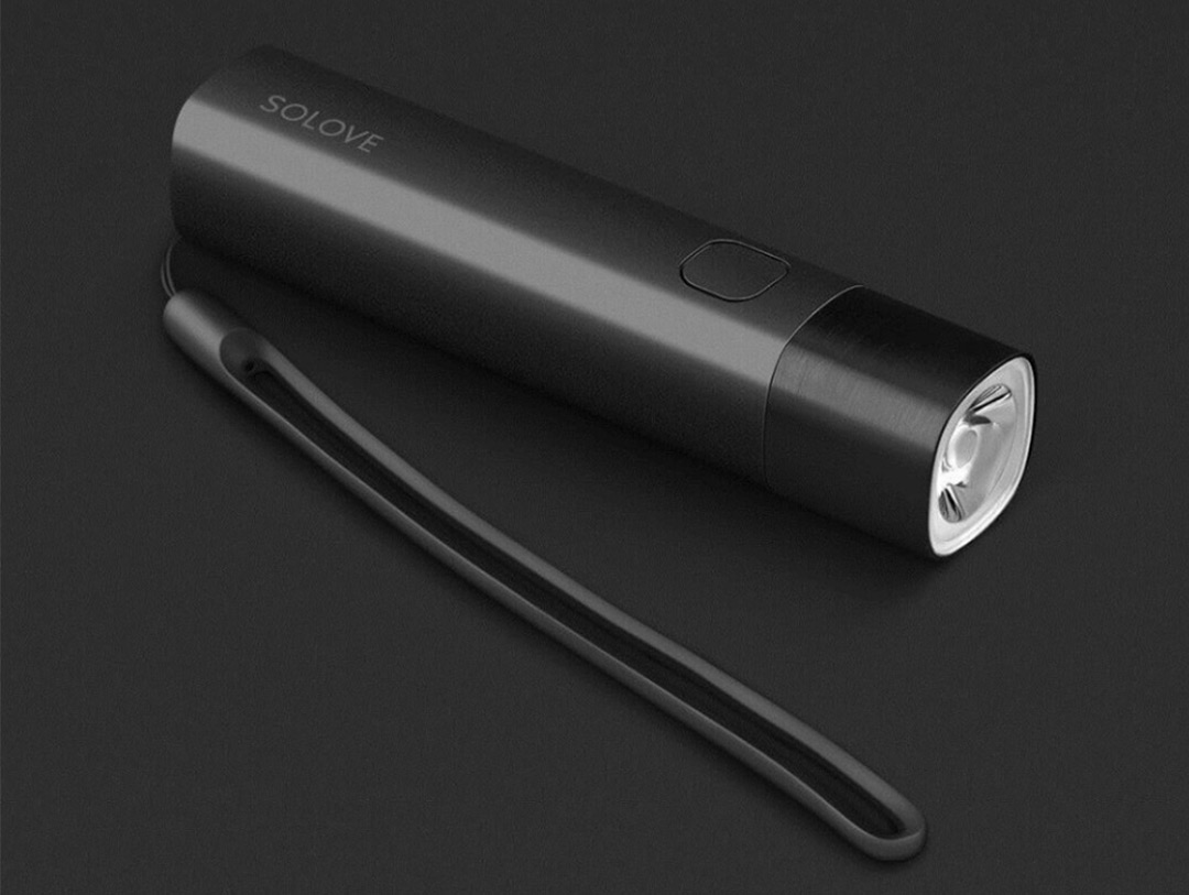 Xiaomi Solove Portable Torch Light X3s