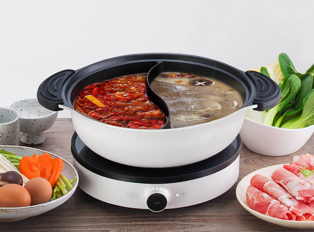 Xiaomi Joyami 2 Way Steamboat Pot