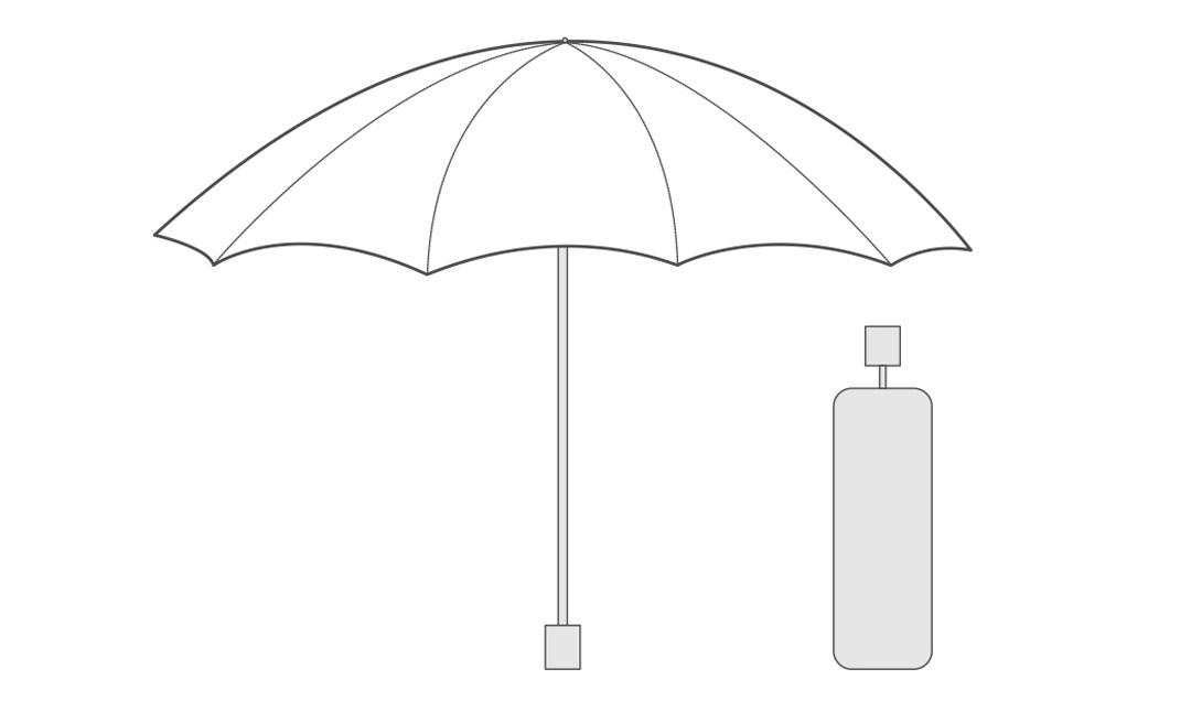Xiaomi 90 Fun Big Portable Umbrella