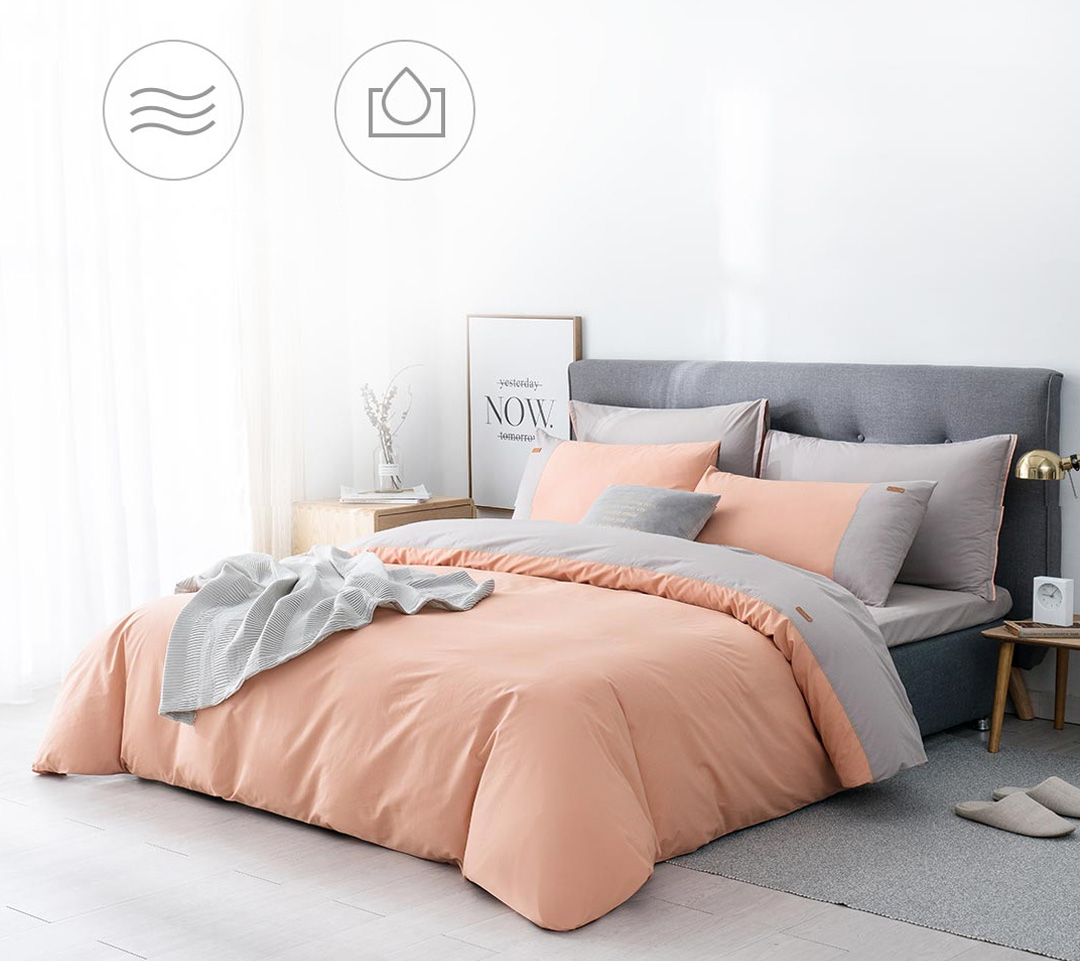 Xiaomi Tonight Cotton Bed Sheet Cover 4 in 1 Set