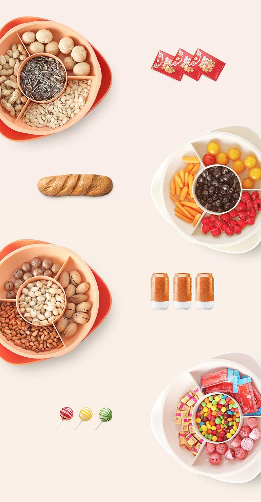 Xiaomi Hello Life Multi-Layer Fruit Plate
