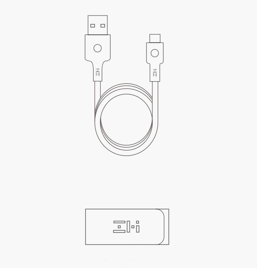 Xiaomi ZMI USB-C Circular Light Cable