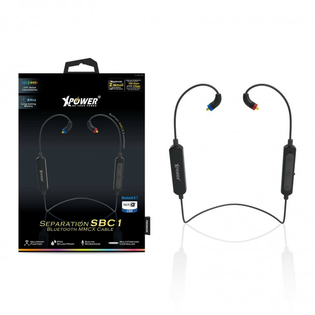 XPower Separation SBC1 Bluetooth MMXC Cable – Black