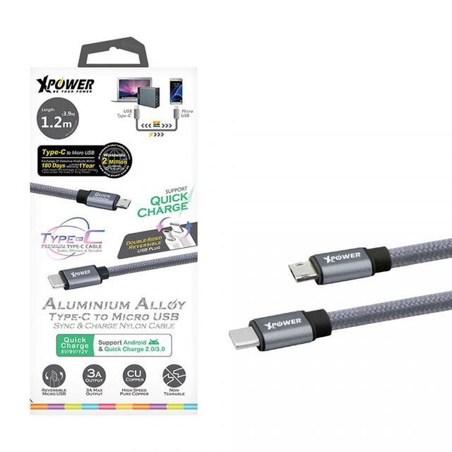 XPower Type-C to Micro USB Cable
