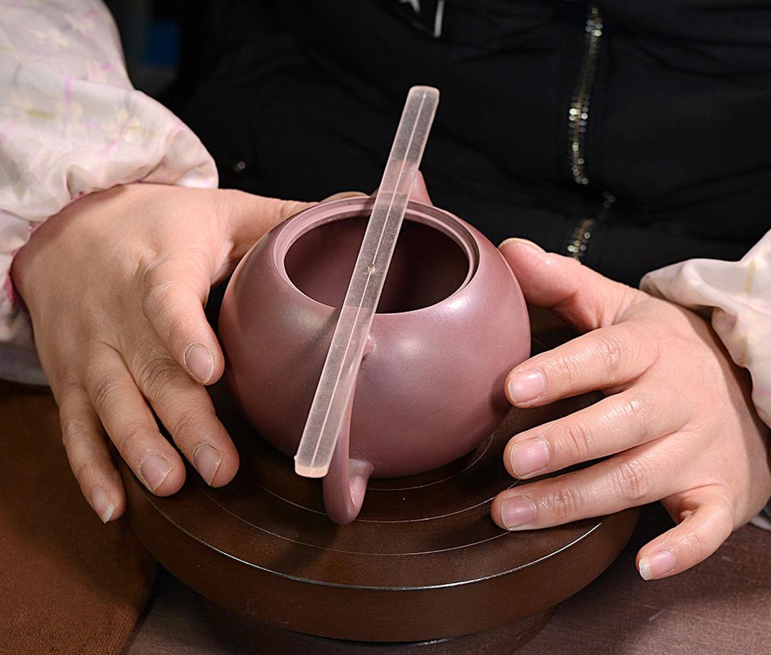 Xiaomi YiXing LiYong ZiSha Big Red Robe Purple Clay Teapot 270ml