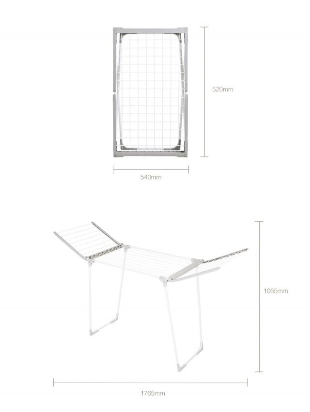 Xiaomi Mr. Bond Dual Wing Foldable Drying Rack